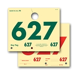 Service Tag Numbers - 3-digit - Manila | RL-78