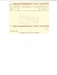 Vehicle Inventory Stock Card - Blank | PAP-4000-4007 | 4000-4007