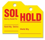 Hold/Sold Tag - Mirror