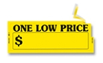 Windshield Slogan - ONE LOW PRICE