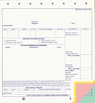 Vehicle Invoice - 4 Part - Imprinted |6134-4