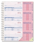 Cash Receipt Books - 3 Part - Automated Plain |AA-138NC-1S2L | PAP-A-138NC-3 | 8042