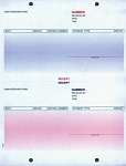Cash Receipts - Laser - Imprinted | LZR-CR | PAP-LZR-CR-1 | 8046-IMP
