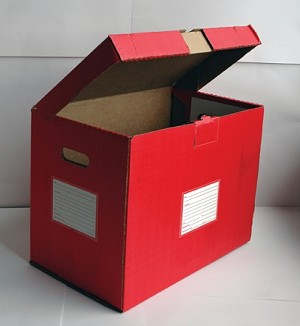 Filing - Storage Box - Color Code