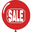 Red Sale Balloon 58692