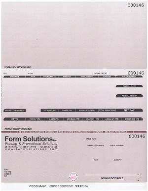 Checks - ADAM Systems Software - Payroll